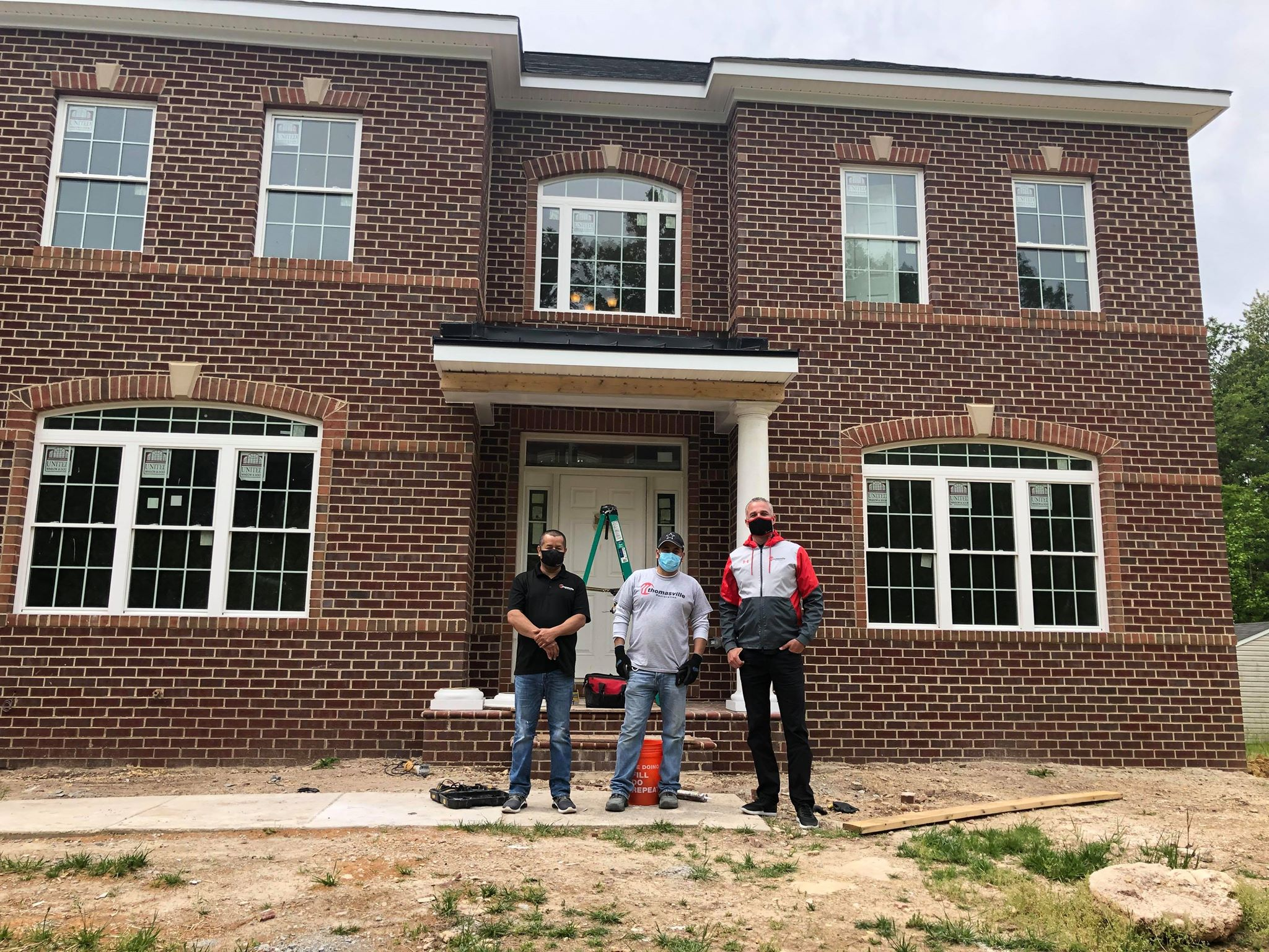 Team Thomasville at reconstruction project